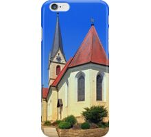 The village church of Allhaming II | architectural photography iPhone Case/Skin