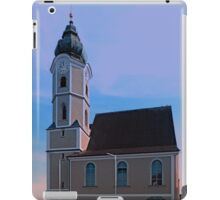 The village church of Aschach an der Donau I | architectural photography iPad Case/Skin