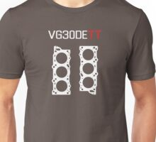 VG30DETT Engine Head Gasket Design - dark background Unisex T-Shirt