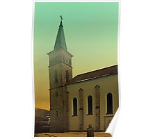 The village church of Julbach I   architectural photography Poster