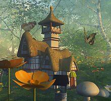 Fairy house by Annika Strömgren