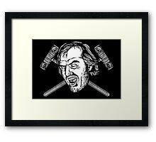 Heeaarrrssss Johnny! Framed Print