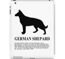 German Shepard iPad Case/Skin
