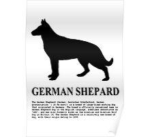 German Shepard Poster