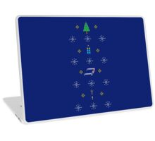 MERRY WHOVIAN CHRISTMAS  Laptop Skin