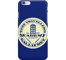TIME TRAVELLERS ACADEMY  iPhone Case/Skin