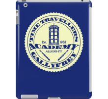 TIME TRAVELLERS ACADEMY  iPad Case/Skin