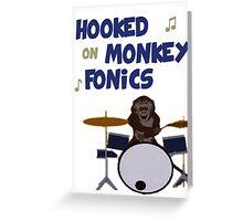 Monkey fonics Greeting Card