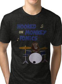 Monkey fonics Tri-blend T-Shirt