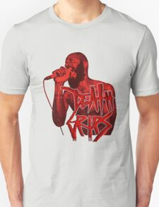 Death Grips | Colour Red T-Shirt