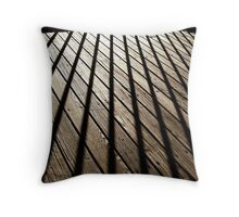 Shadow Spokes Throw Pillow