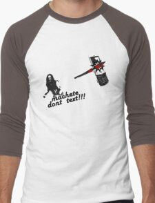 Machete dont text Men's Baseball ¾ T-Shirt