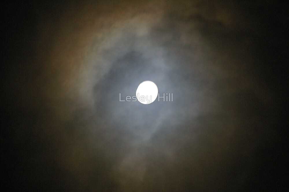 Mystic moon. by Lesley  Hill