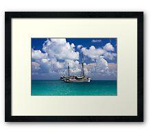 Becalmed off Whitehaven Sands Framed Print
