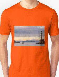 The boat returns at Sunset T-Shirt