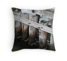 St Kilda Pier Throw Pillow