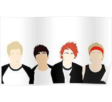 We Aren't A Boy Band v1 Poster