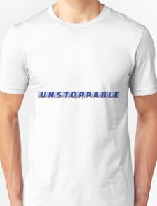 unstoppable - dark blue/orange T-Shirt