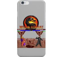 MORAL KOMBAT iPhone Case/Skin