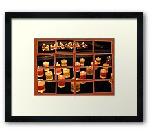 Flames in the Mirror Framed Print