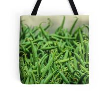 Sea of Green Beans Tote Bag