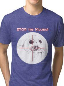 Stop the Killing! Tri-blend T-Shirt