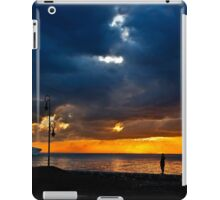 Watching the ships go by iPad Case/Skin