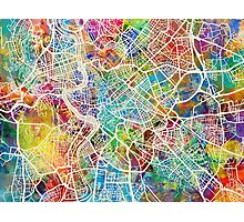 Rome Italy Street Map Photographic Print