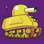 Happy Tank by benitez