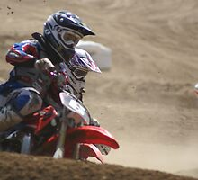 Loretta Lynn's SW Area Qualifier - Rider #6 Connor powers into the first turn @ Competitive Edge MX - Hesperia, CA 4-6-2008, (218 Views as of May 25, 2011) by leih2008