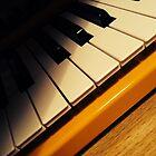 Yellow Keyboard by CreganJ