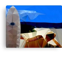 Beach Sea Sun n Surf Canvas Print