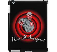 That´s all Avengers! iPad Case/Skin