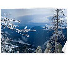 Valley view Yosemite Poster