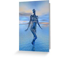 Transcension By Devine Light Greeting Card