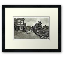 Georgetown Canada Train Station - www.jbjon.com Framed Print