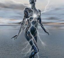 Transcension By Lightning by Lisa  Weber