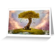 Gaia-House of All Greeting Card