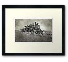 Abandoned Steam Strain - www.jbjon.com Framed Print