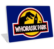 WHORASSIC PARK Laptop Skin