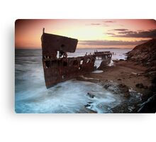 Ghost Ship Canvas Print