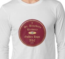 St Benedicts Beer Label Long Sleeve T-Shirt