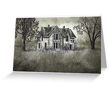 Abandoned Guyitt House - www.jbjon.com Greeting Card