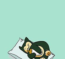 Sleeping Snorlax by Helenave