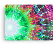 Trippy Tie Dye Canvas Print