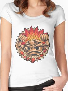 Geodude` Women's Fitted Scoop T-Shirt