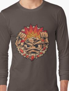 Geodude` Long Sleeve T-Shirt