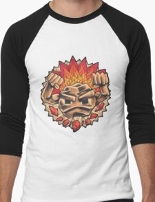 Geodude` Men's Baseball ¾ T-Shirt