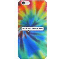 Um, Ur Not Mamrie Hart iPhone Case/Skin