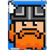 Pixel honeydew iPad Case/Skin